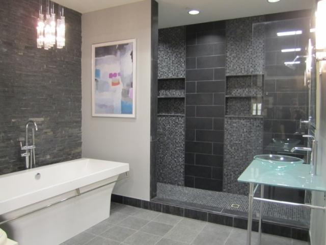 Salle de bain grise 30 idées sympas pour maison moderne