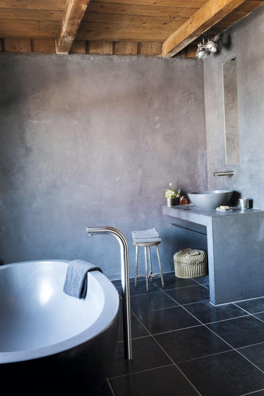 Salle de bain noir 23 idées de salle de bain noir et