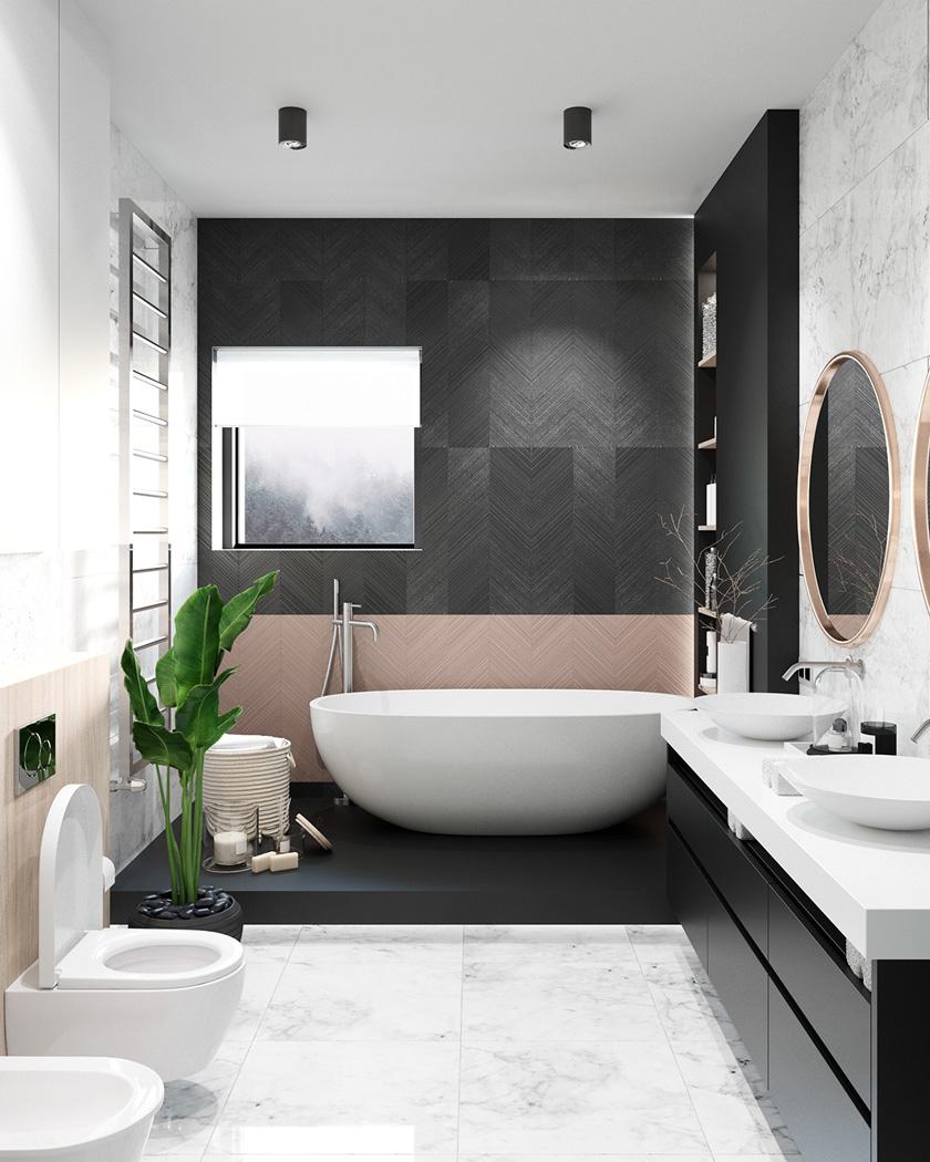 Salle de bain moderne idées déco et inspiration