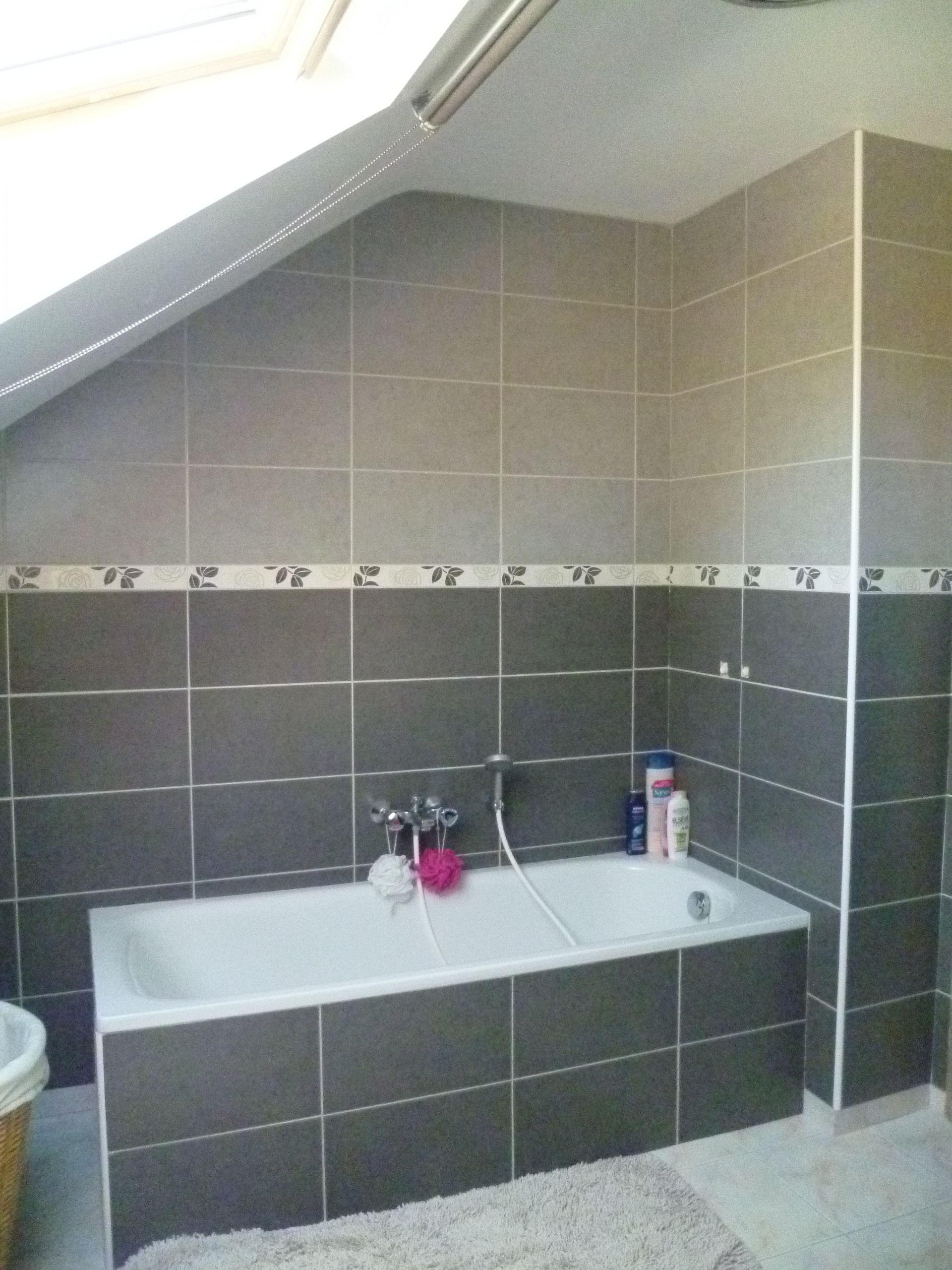 Carrelage De Salle De Bain Gris salle de bain noir et gris ides carrelage salle de bain