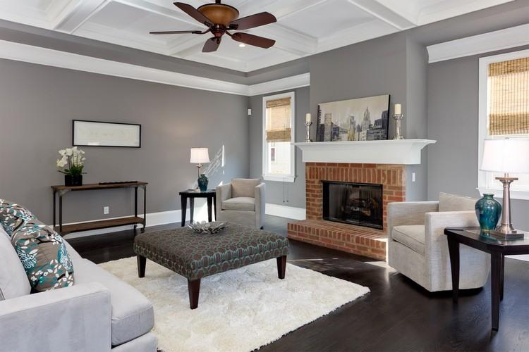 Déco salon gris blanc bois en 30 idées pour revitaliser
