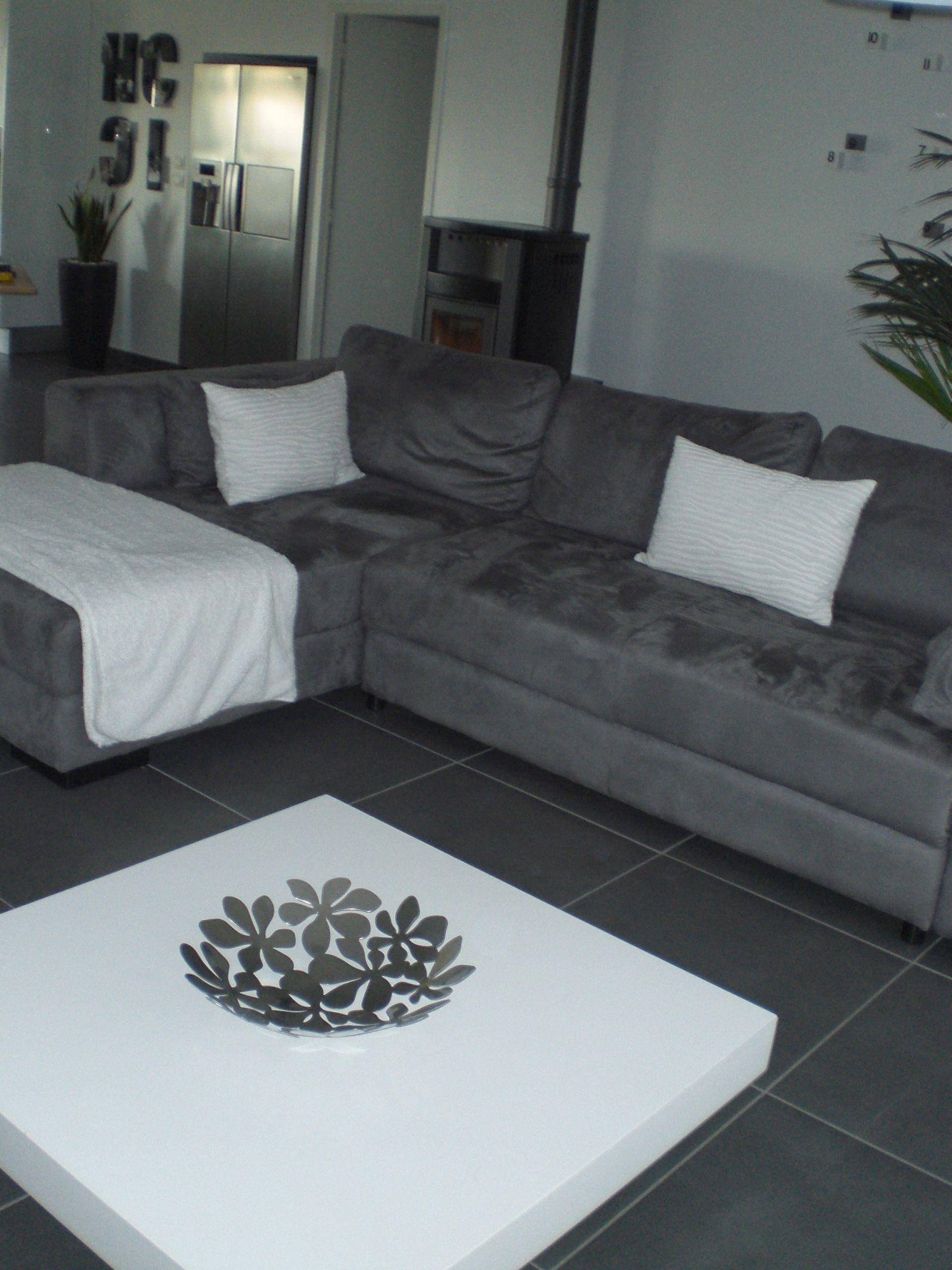 Salon gris et blanc photo 1 1