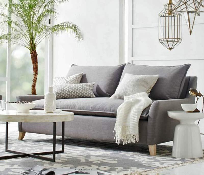 10 idées canapé gris dans un salon