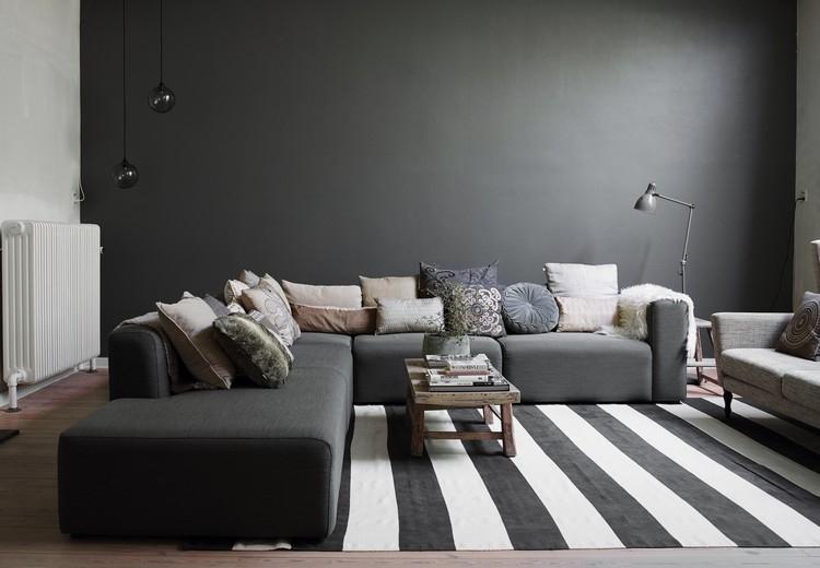 Peinture salon grise le salon gris sous toutes ses coutures