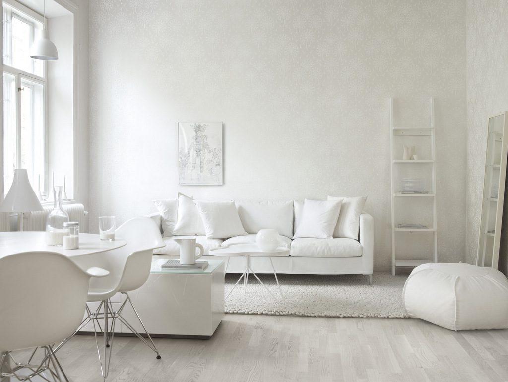 Canapé blanc et fauteuil blanc 25 modèles à prix doux