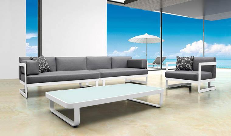 Emejing Salon De Jardin Aluminium Bas Gallery House