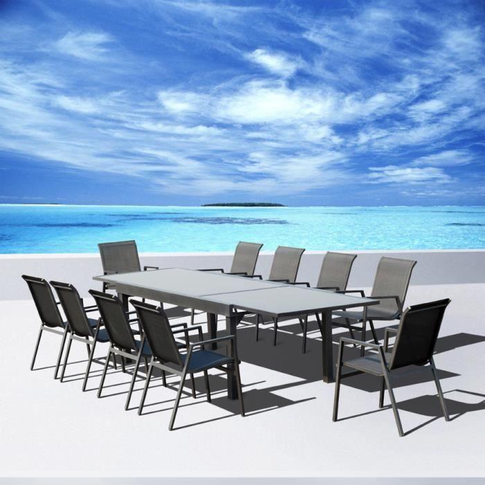 Salon de jardin aluminium Vegas Achat Vente salon de