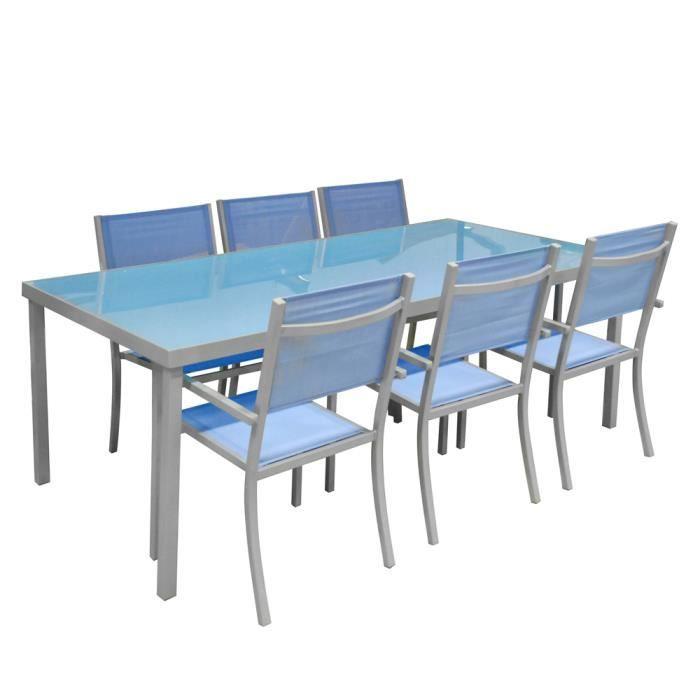 Salon De Jardin Aluminium Concept