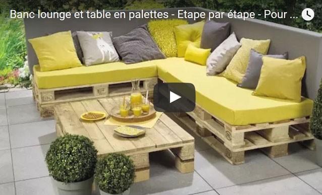 Plan Realisation Banc Palettes Une S Rie De 149 Cr Ations