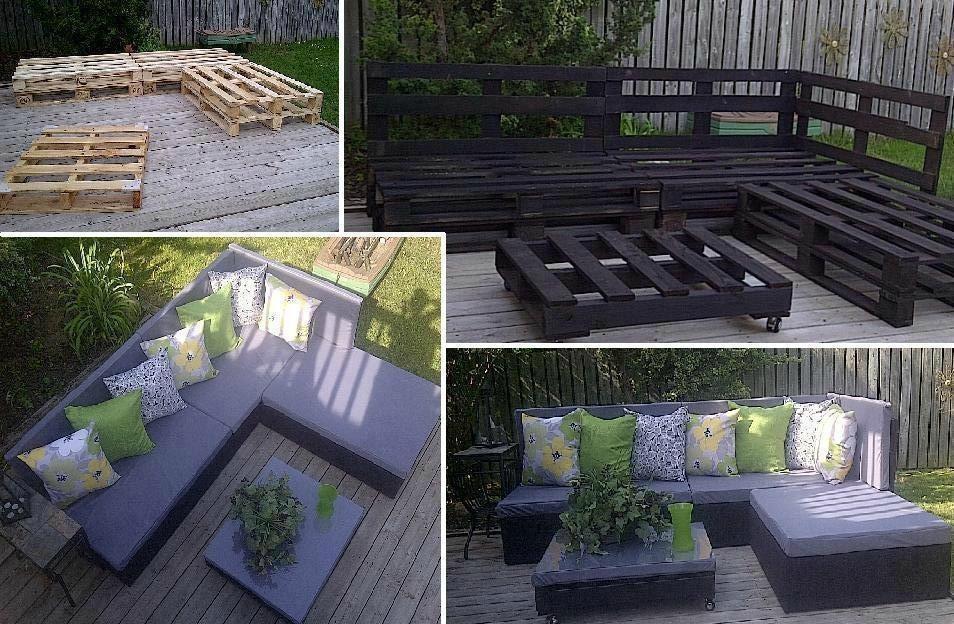 salon de jardin en palette 10 Deco Maison Design