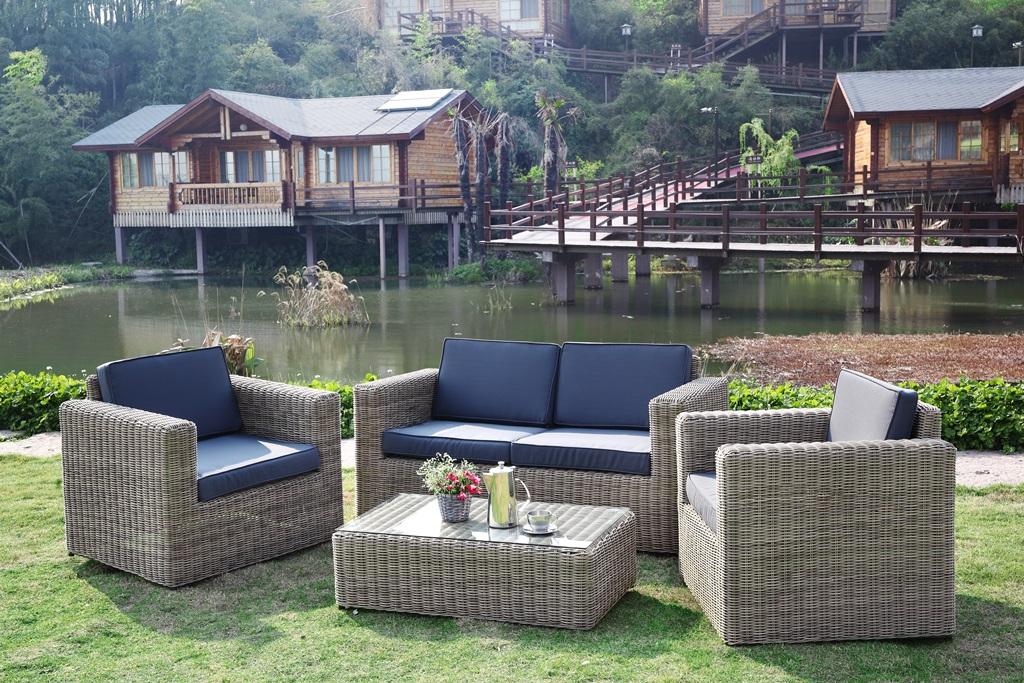 salon de jardin design luxe