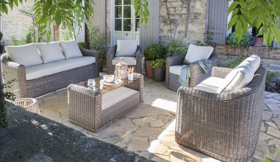 Salon jardin Cap gris anthracite