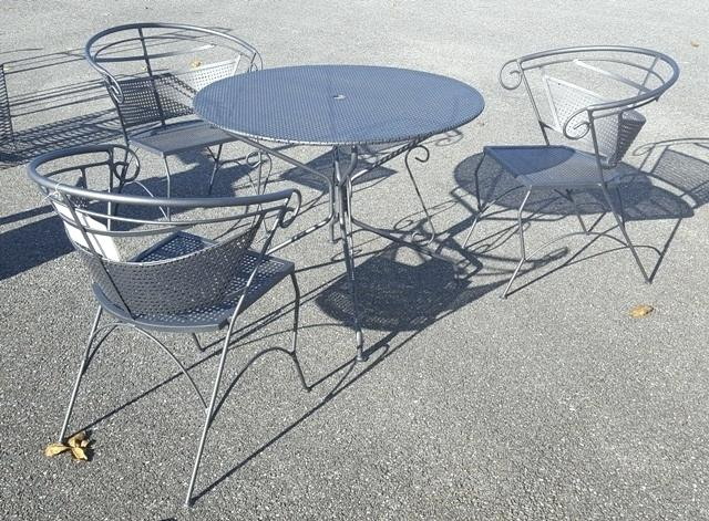Salon Fer Forge Table A Manger En Fer Luxury Stunning