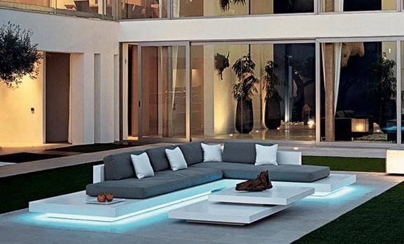 Salon De Jardin Luxe Des Idées | Idees Conception Jardin