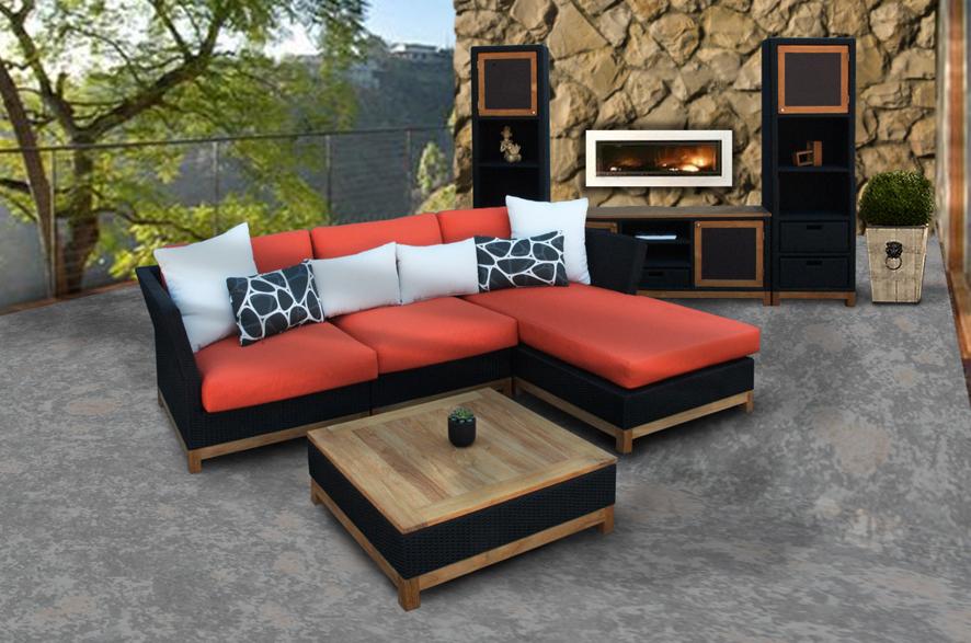 Beautiful Garden Modern Wood Furniture – Wilson Rose Garden