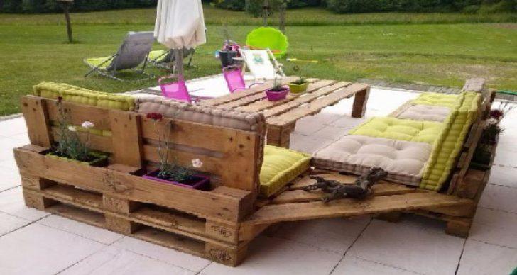 Construire salon de jardin en palette Mailleraye jardin