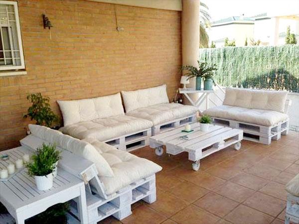Energ & Sens Salon de jardin en palettes