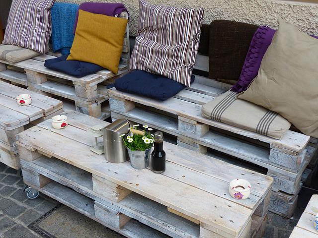 ment fabriquer un salon de jardin en palettes recyclées