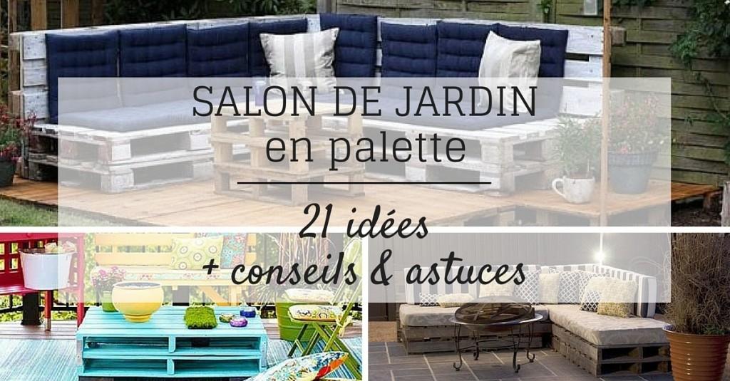Salon De Jardin Palette Salon De Jardin En Palette 21 Idées à Découvrir