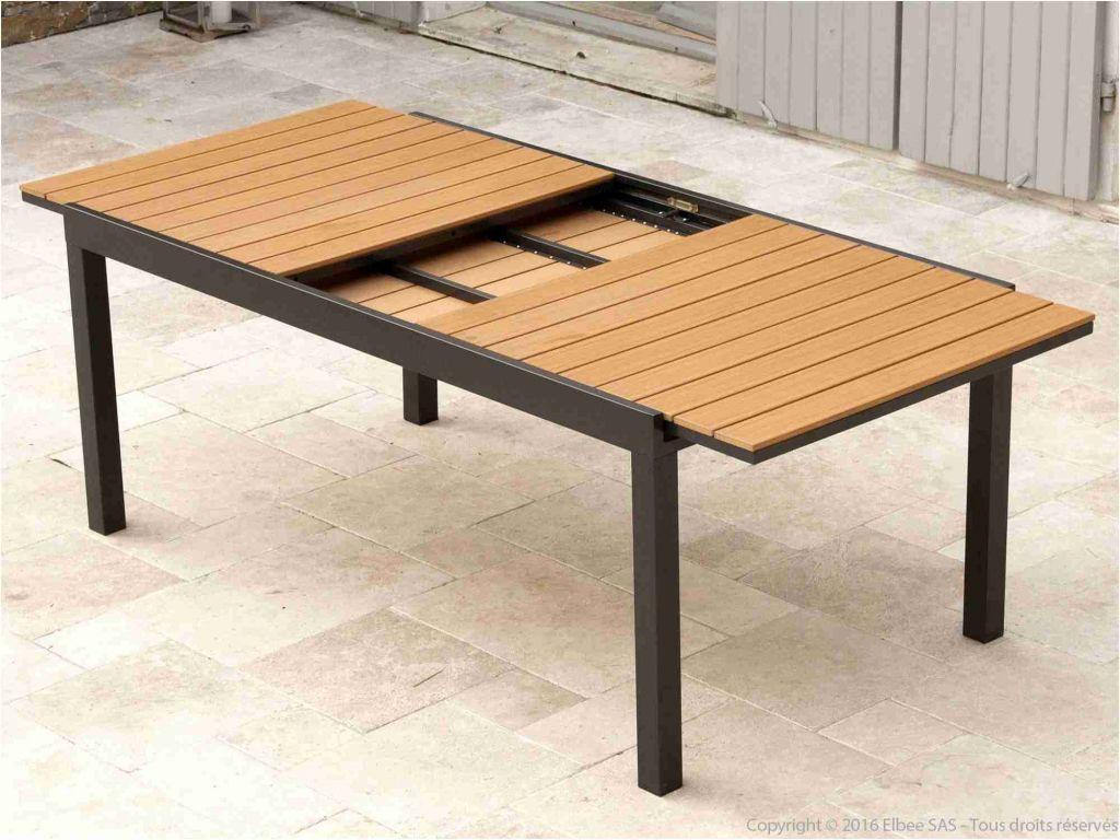 Table De Jardin Extensible En solde Nice Table Jardin Bois