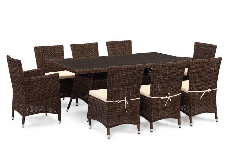 Les concepteurs artistiques Salon de jardin table ronde