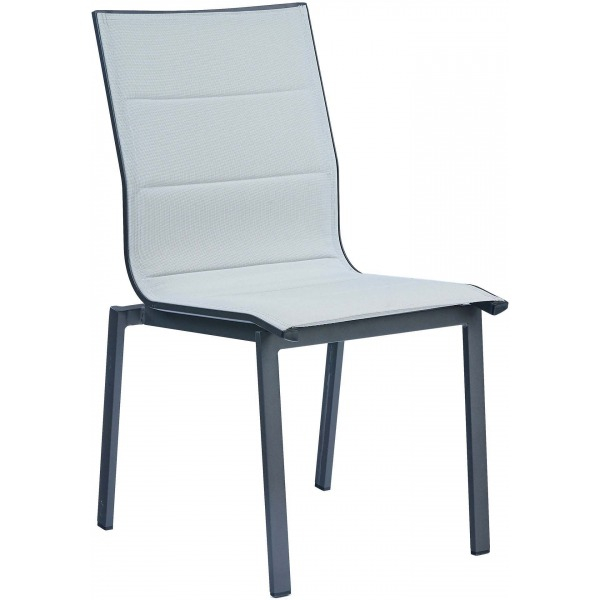 Salon de jardin table ronde 6 chaises provence