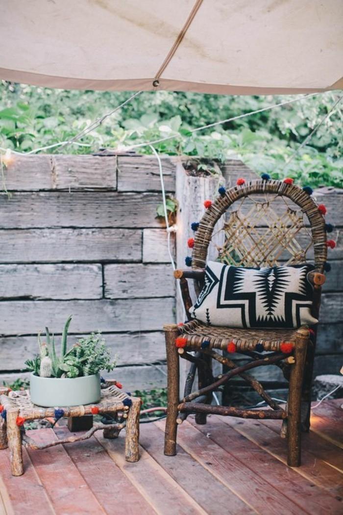 Le salon de jardin en résine tressée en 52 photos