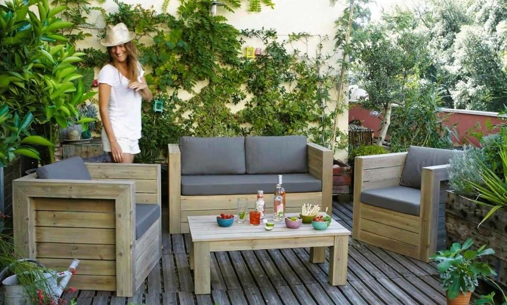 Salon terrasse pas cher Mobilier de jardin et terasse