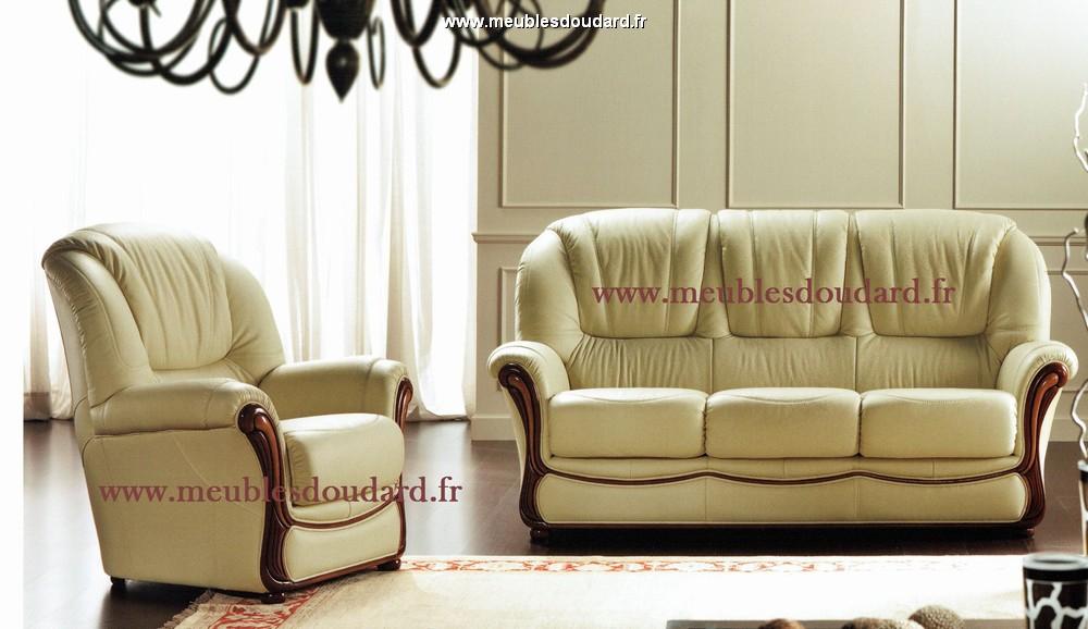 fauteuil de salon en cuir