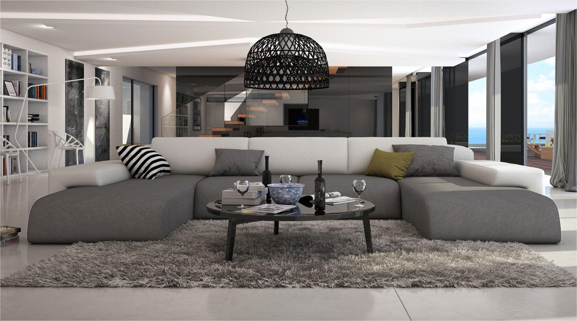 Ce grand canapé d angle en U conférera à votre salon