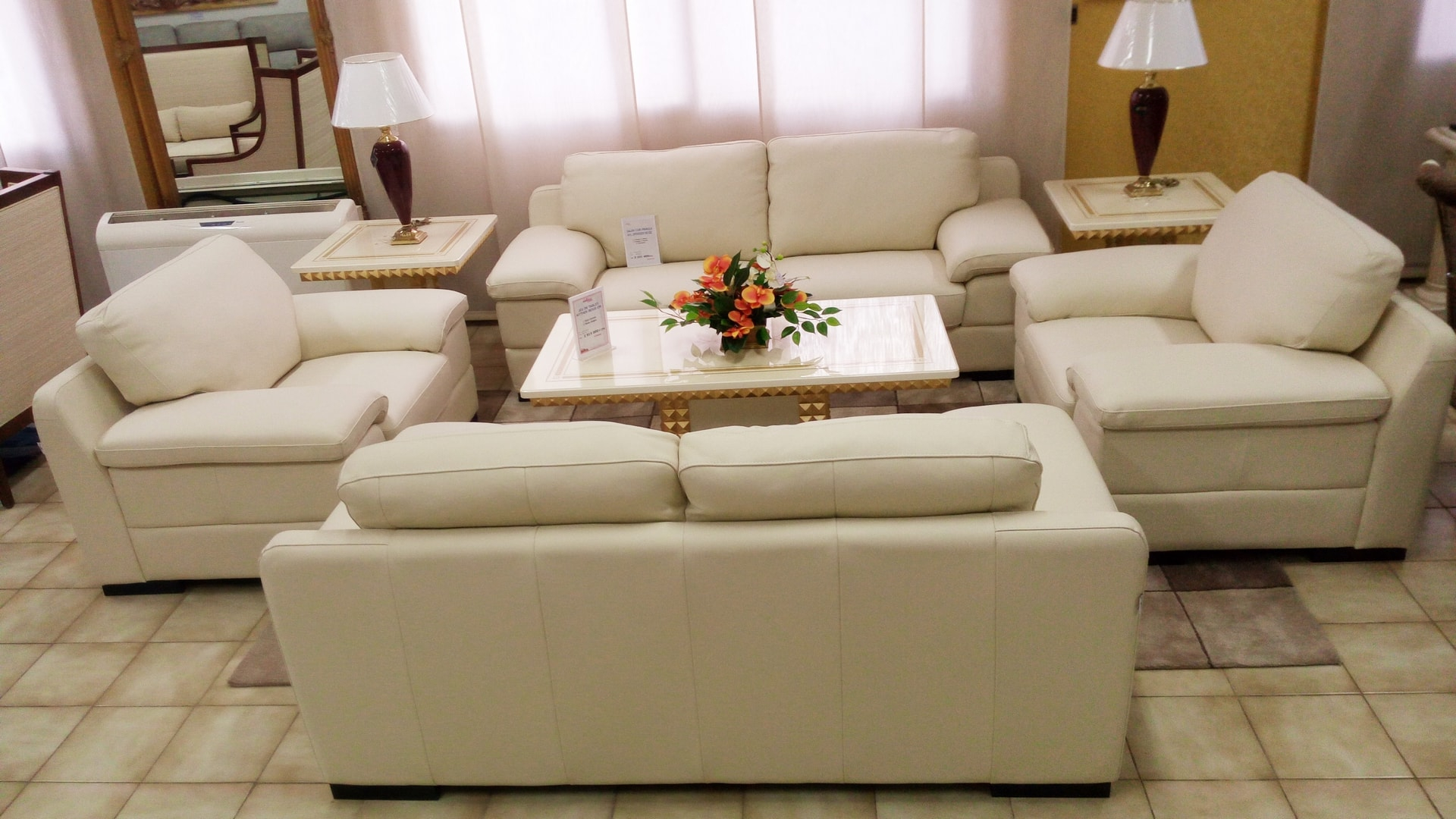 Salon En Cuir salons cuir mobilier cuir aoste salon 3 2