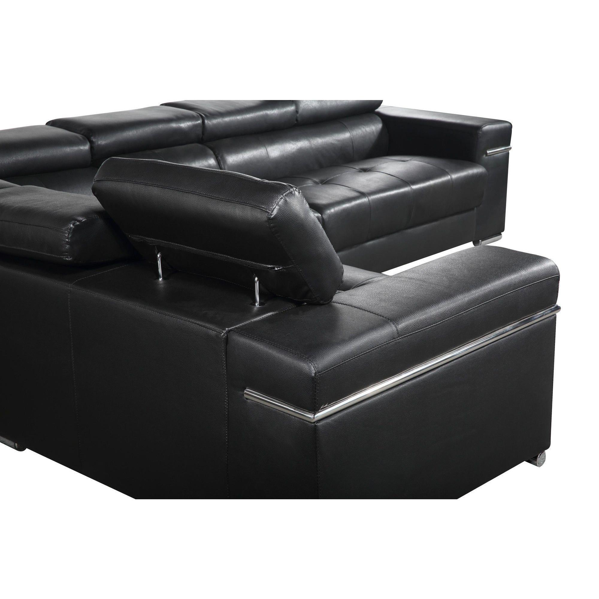 Salon – fauteuil noir forium