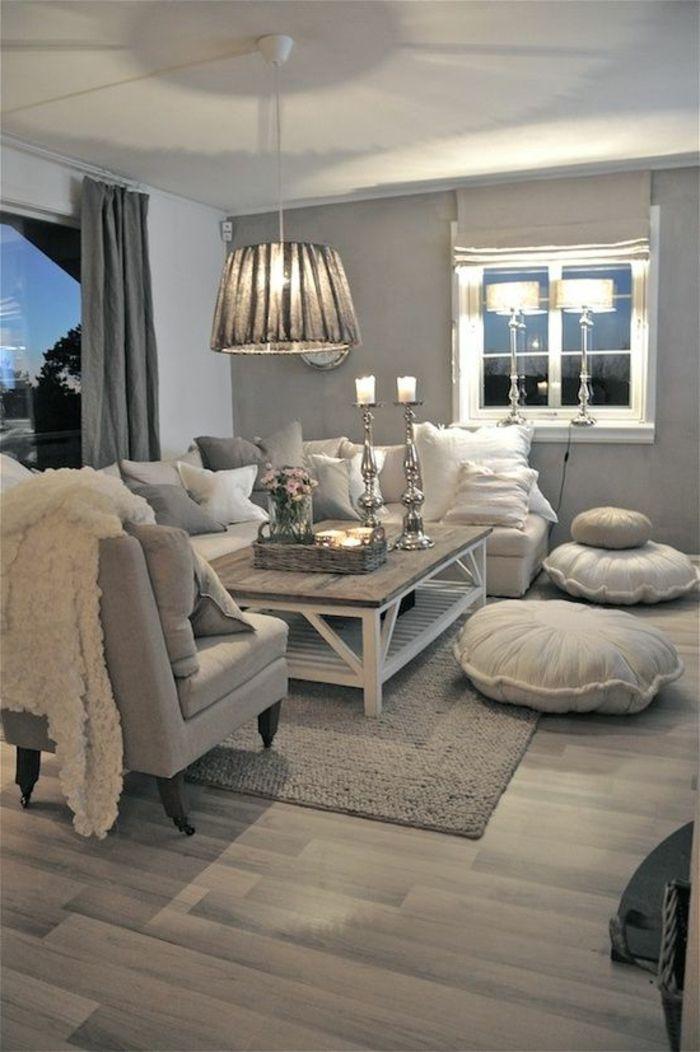 Salon Gris Et Blanc Deco Salon Quelle Couleur Avec Le Gris Salon Style Idees Conception Jardin