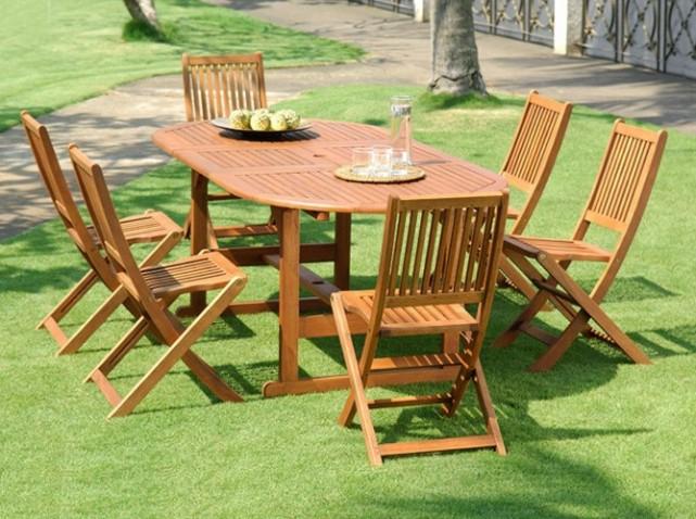 Meubles de jardin en teck pas cher meuble jardin en bois