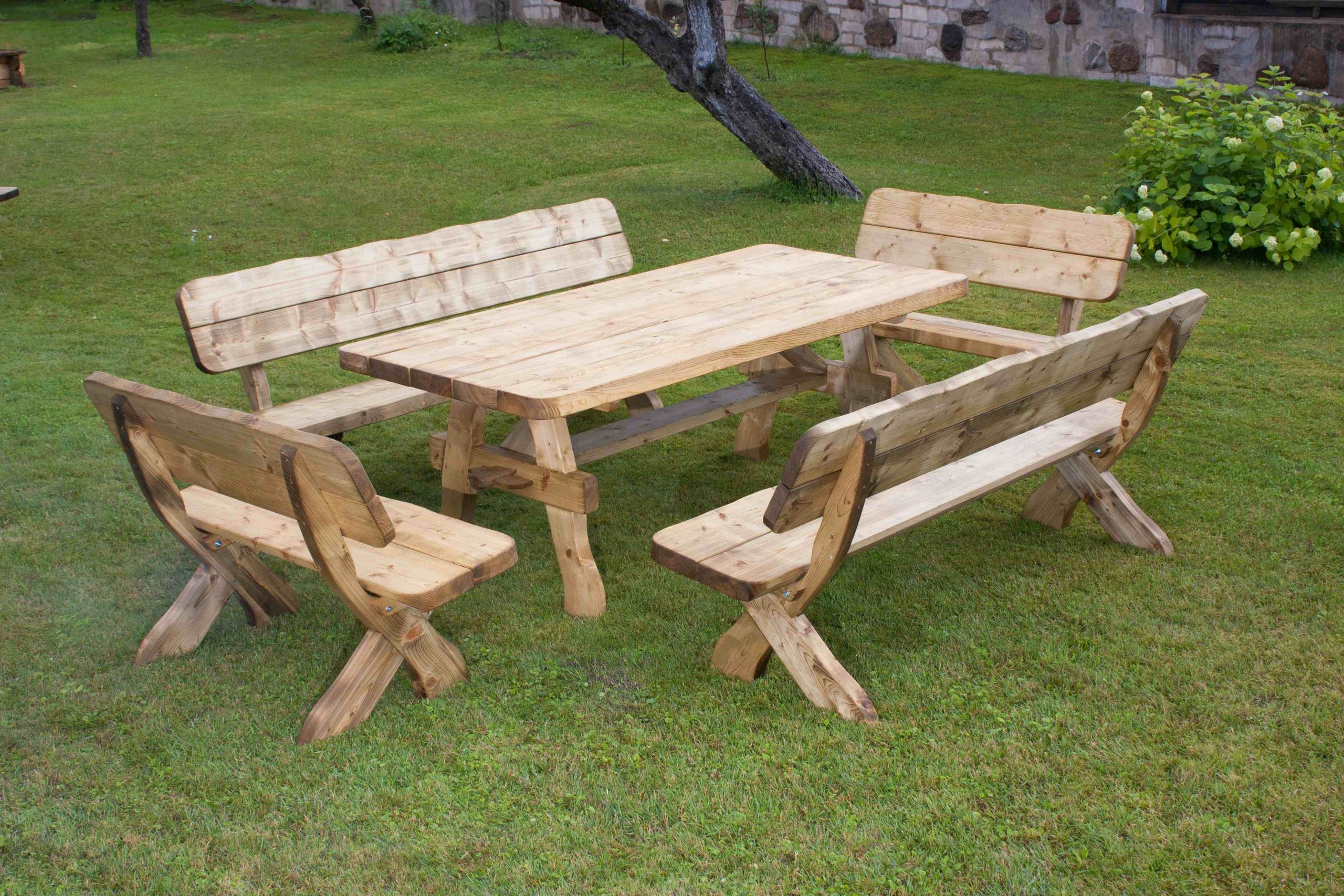 salon de jardin en bois pas cher 11 – Idées de Décoration