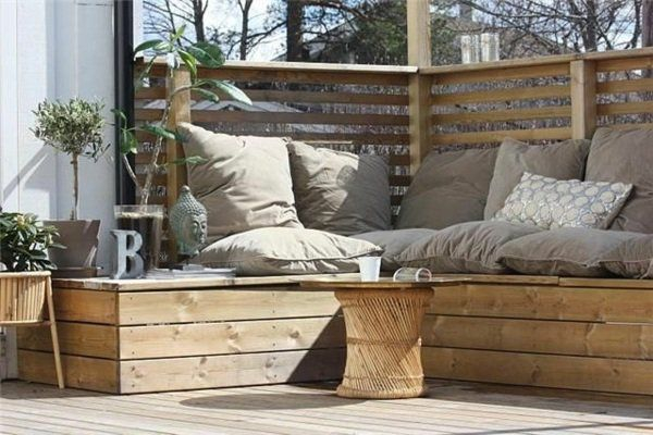 Salon de jardin pas cher et en bois AIP Paleo