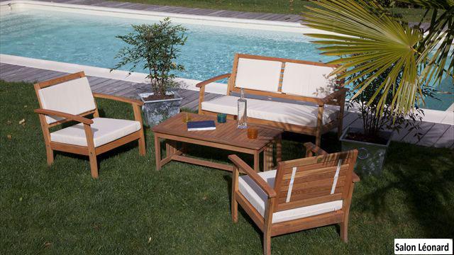 Salons de jardin en Robinier Acacia ptoir des bois