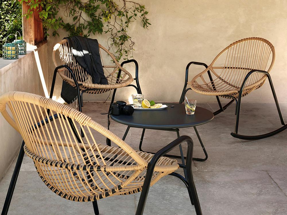 Du mobilier de jardin en rotin ou presque Joli Place