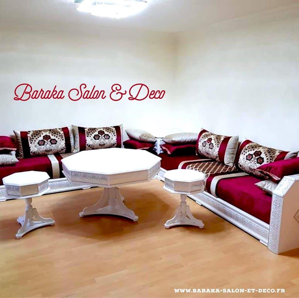 Baraka Salon & Déco Salons marocains sur mesure à