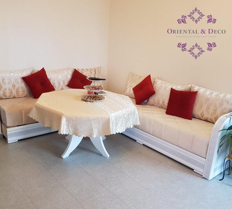 Salons marocains capitonnés…Arrivages de juillet