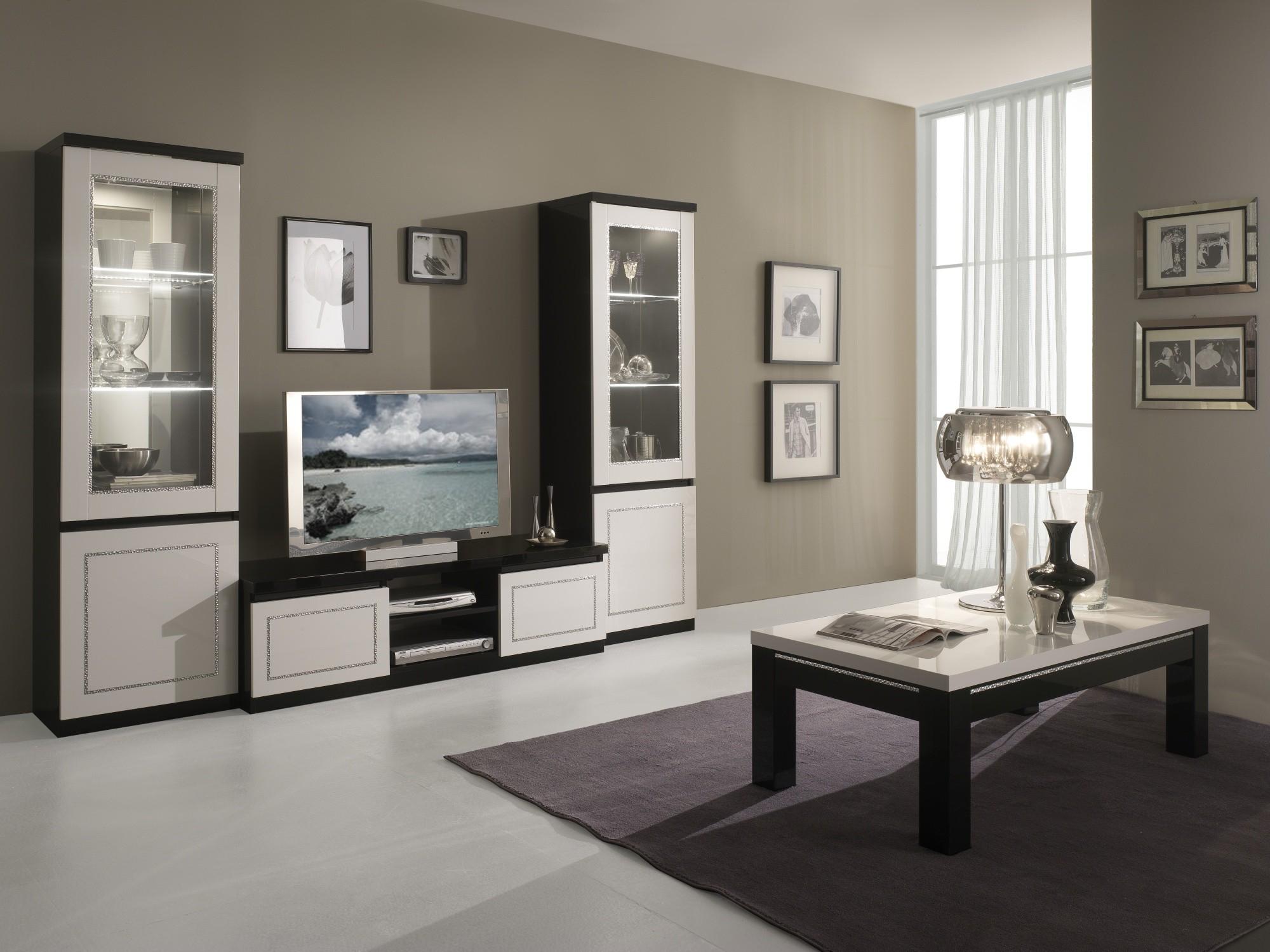 Décoration Salon Moderne Noir Et Blanc salon moderne gris deco salon moderne gris ideeco - idees