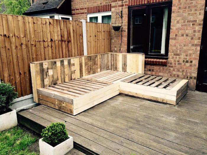 Salon Palette Bois 52 Idées Pour Fabriquer Votre Meuble De Jardin En Palette