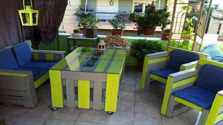 Salon Palette Bois Wandgestaltung Wohnzimmer Tuto Fabriquer Une Table Basse