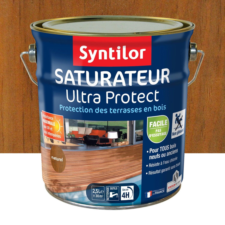 Protection des terrasses saturateur et mobilier de