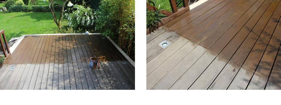 Rénovation d une terrasse en bois ipéEntretien du bois