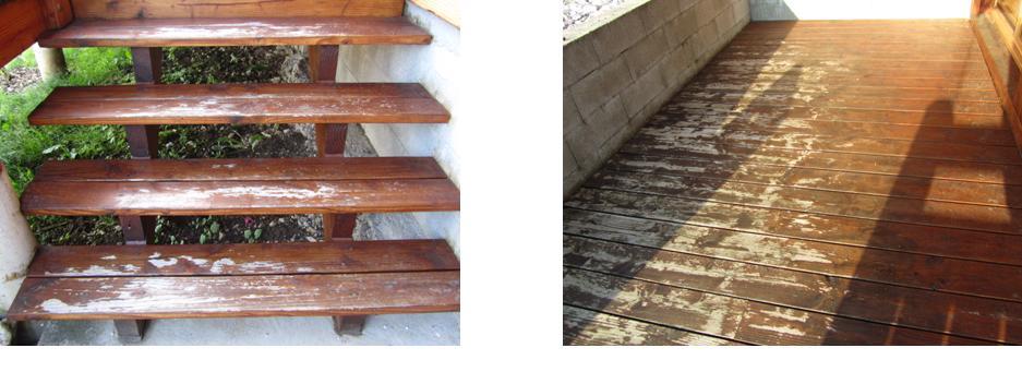 Saturateur bois sur terrasse en douglas trouver le bon