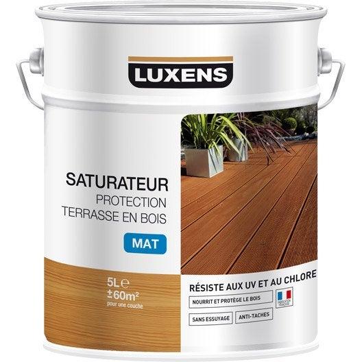 Saturateur LUXENS Saturateur protection terrasse en bois 5