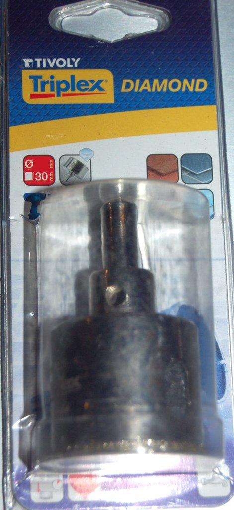 Scie Cloche DIAMOND Tivoly D 40 pour carrelage