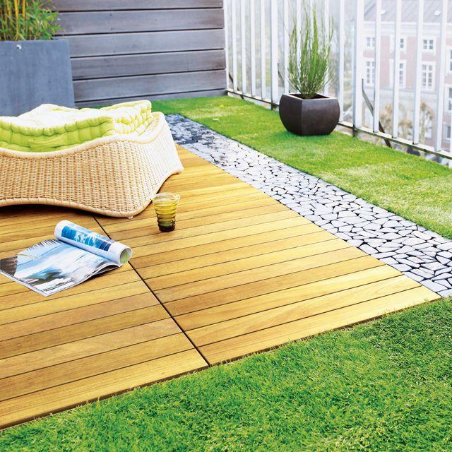 Solde Carrelage Exterieur Carrelage Exterieur Clipsable Castorama Great Agrandir Idees Conception Jardin