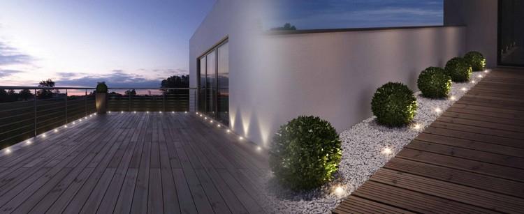 Luminaires extérieurs éclairage pour chaque zone du jardin